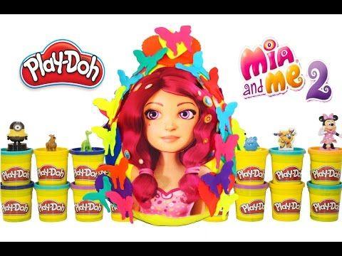 Mia And Me 2 Play Doh Surprise Egg Mia And Me 2 Season - YouTube