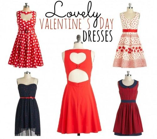 outfits for valentines day for women and teenage girls 2014 latest fashion trends - Valentine Dresses For Girls