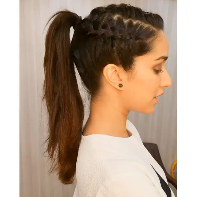 Indian hairstyles for girls with medium hair-1634
