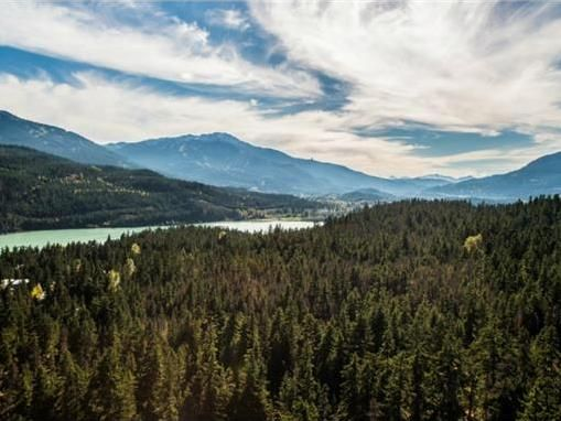 View from 9427 Emerald Drive, Vacant Land   Whistler Real Estate