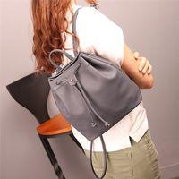 Hot Sale !! 2017 Girls  Fashion Bag Brand Desinger Women Fashion DrawstringTravel Satchel School Bag Backpack Bucket Bag S65
