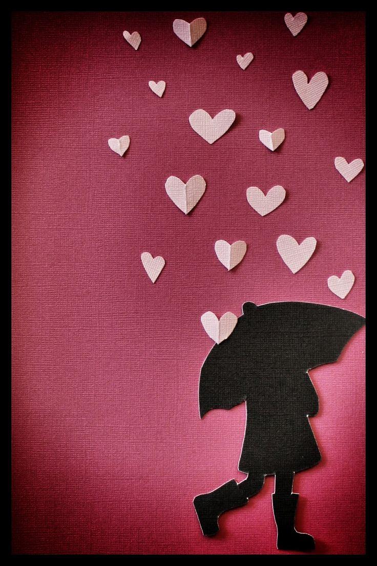 Valentine's Day themed bulletin board