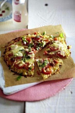 Das Rezept für Blumenkohl-Pizza mit Tomaten und weitere kostenlose Rezepte auf LECKER.de