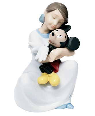 Nao by Lladro I Love You Mickey Mouse Collectible Disney Figurine - Collectible Figurines - For The Home - Macy's