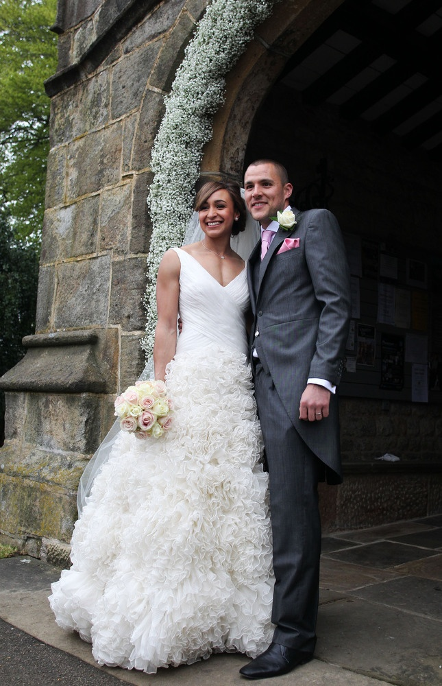 Jessica Ennis Marries Andy Hill