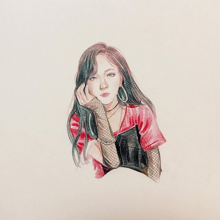 """151 Likes, 3 Comments - @5dock_5dock_ on Instagram: """"#redvelvet #wendy #badboy #colorpencil #drawing"""""""