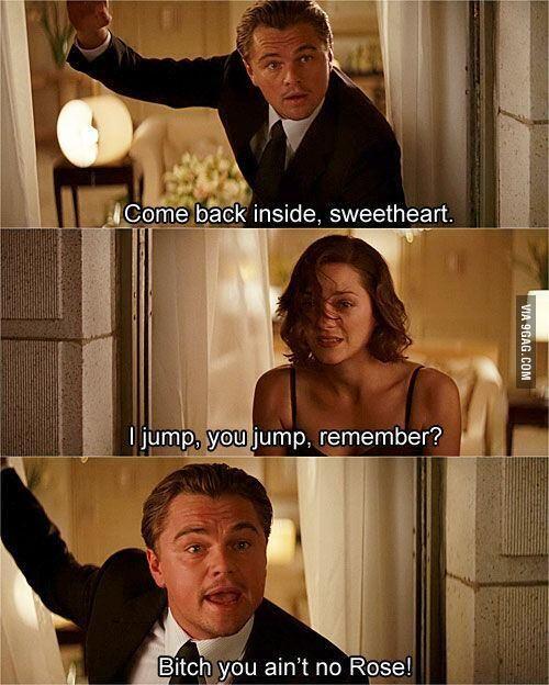 Leonardo diCaprio. funny