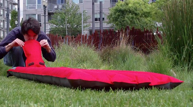 This will revolutionize camping!!!! Windcatcher AirPad: Inflates in seconds with NO power or pumping — Kickstarter  Sleeping Pad, inflatable , portable, lightweight http://www.kickstarter.com/projects/1484284472/windcatcher-inflates-in-seconds-with-no-power-or-p