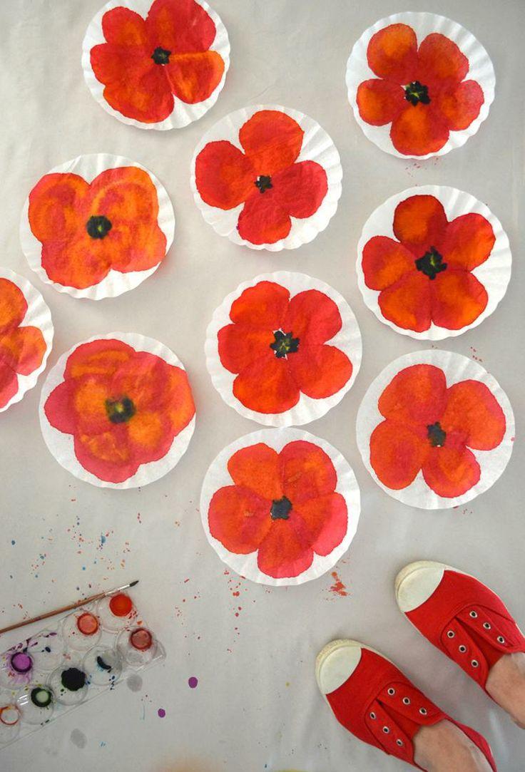 Make poppy art!