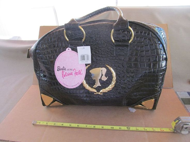 BARBIE PURSE PATRICIA FIELD PURSE HANDBAG BARBIE BOWLER BAG NEW WITH TAGS BARBIE #PATRICIAFIELDBARBIE #PURSE