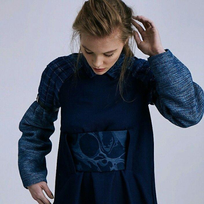 Gorgeous details  #denim #denimondenim #doubledenim #marbling #indigo #jeans #style #fashion