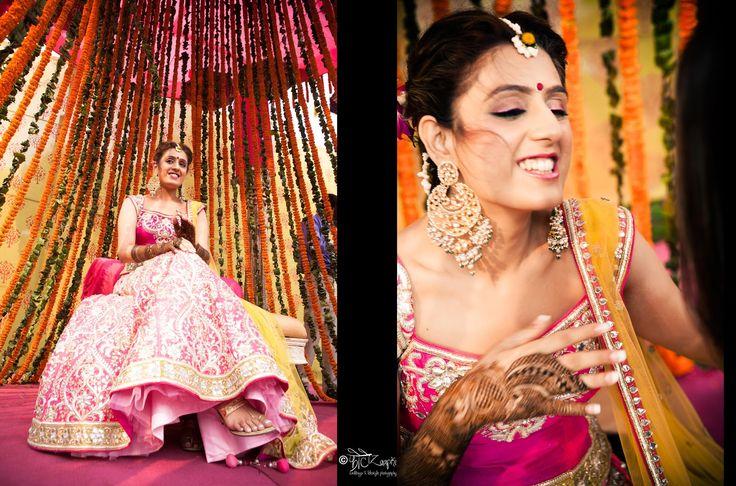 Henna colors with Priyanka