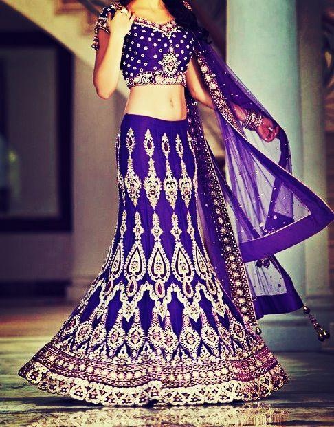 Stunning purple lehenga choli, i absolutely love the color!!!!!