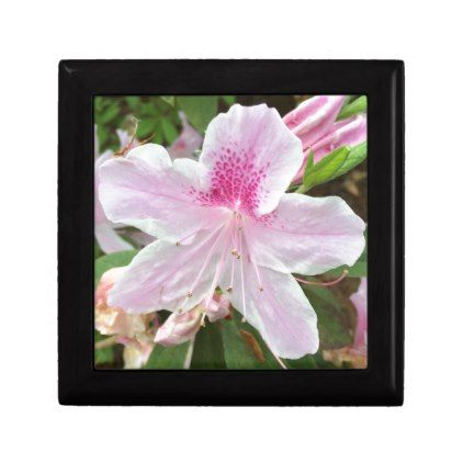 Light Pink Flower Jewelry Box - photos gifts image diy customize gift idea