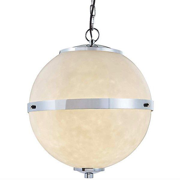 Justice Design Group Clouds Imperial Hanging Globe Pendant Light