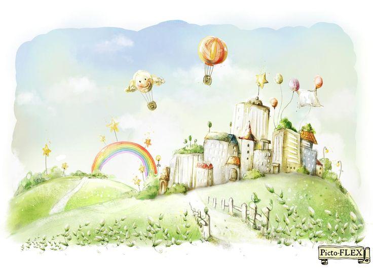 Детские | Каталог | Фрески Киев купить, фрески в интерьере - роспись стен