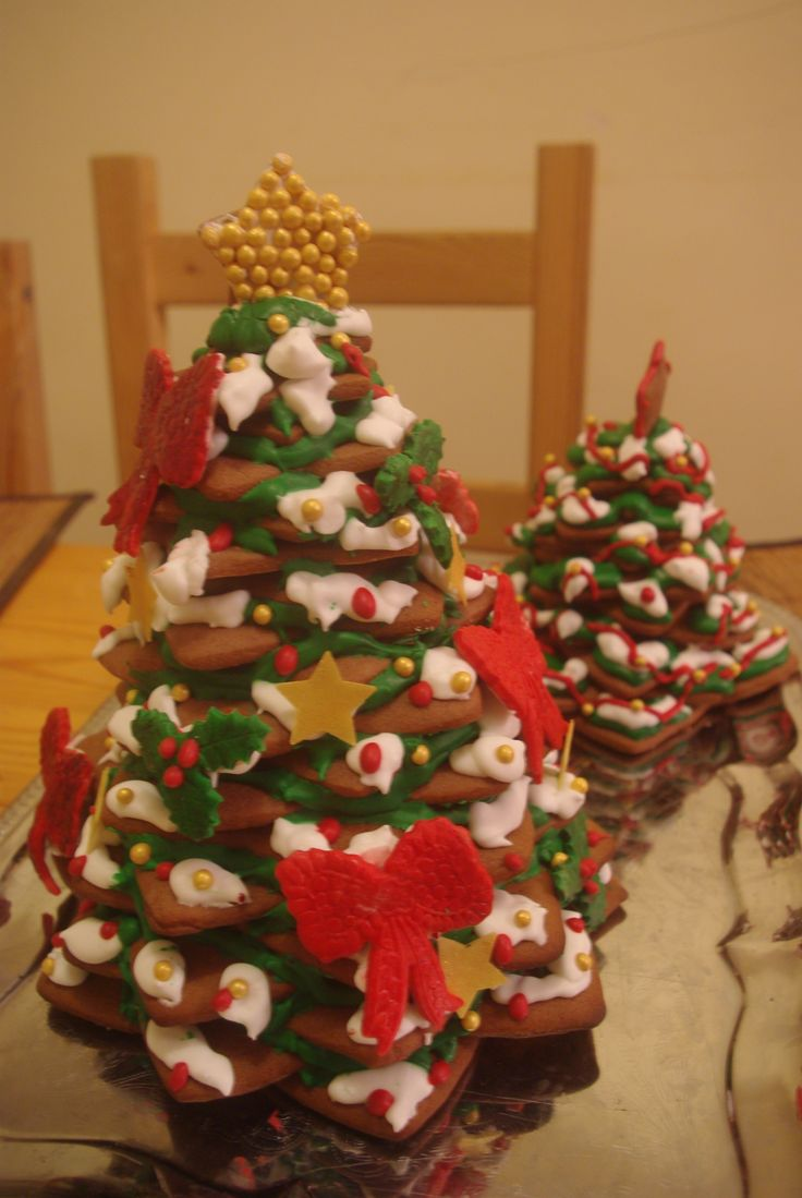 Gingerbread Christmas Tree :)  Molds from: http://www.aledobre.pl