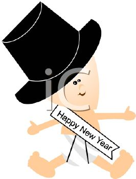 iclipart clipart of a new year baby happy new years pinterest free clipart images royalty free clipart and clipart images