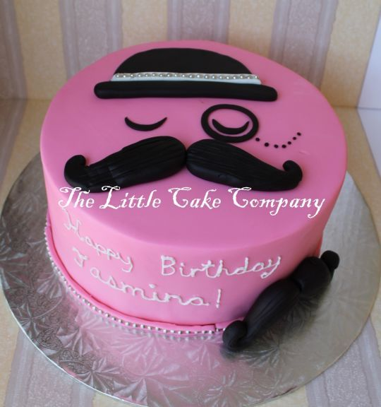 Mustache cake - Cake by The Little Cake Company - CakesDecor
