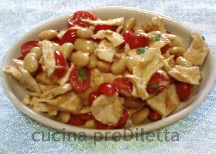 insalata di fagioli