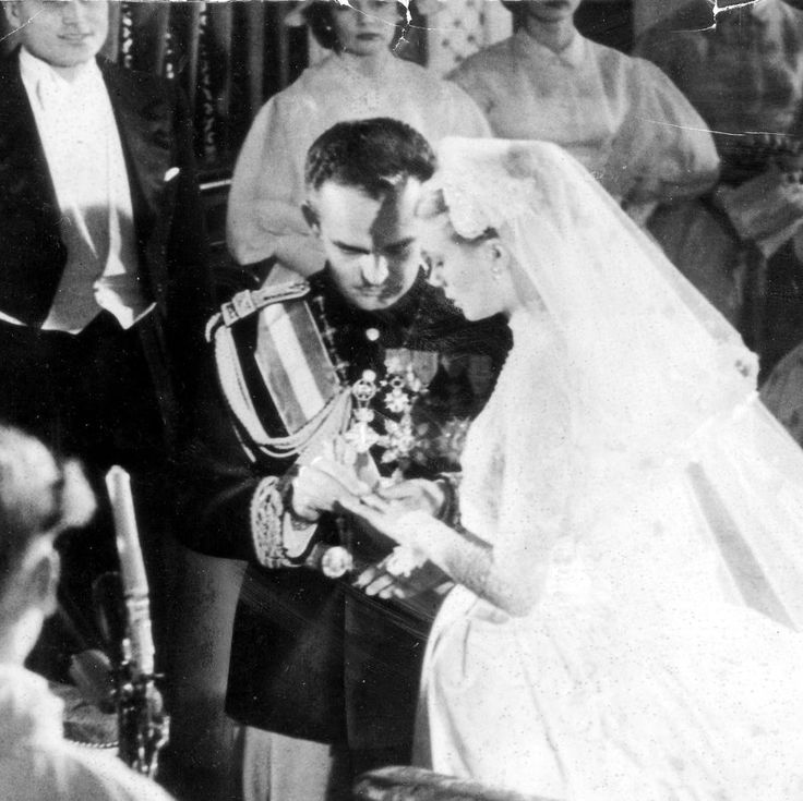 The Wedding Of Grace Kelly And Prince Rainier Of Monaco