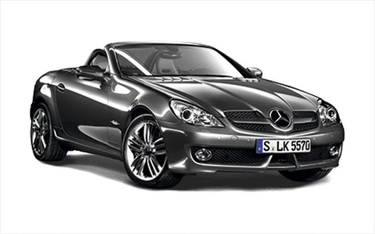 Mercedes Benz SLK Front Three Quarters