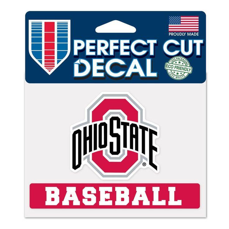 "Ohio State Buckeyes WinCraft 4"" x 5"" Perfect Cut Sport Slogan Decal"