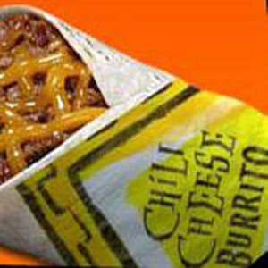 Taco Bell Chili Cheese Burrito. I remember ordering this when I was a kid.