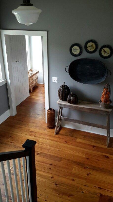 Reclaimed heart pine floors