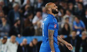 Simone Zaza apologises after bizarre penalty sent Italy out of Euro 2016