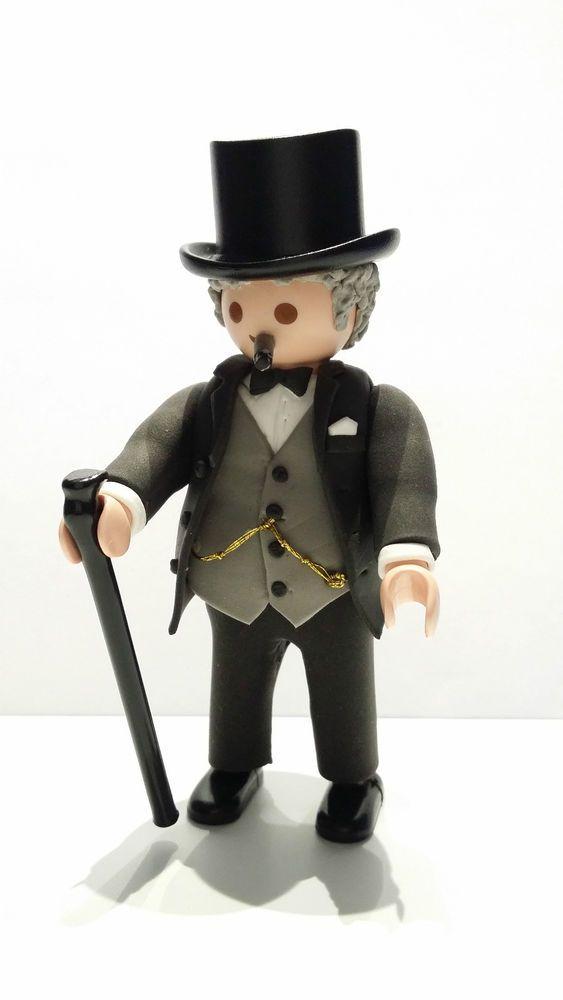 FIGURA CUSTOM Winston Churchill - PLAYMOBIL CUSTOM