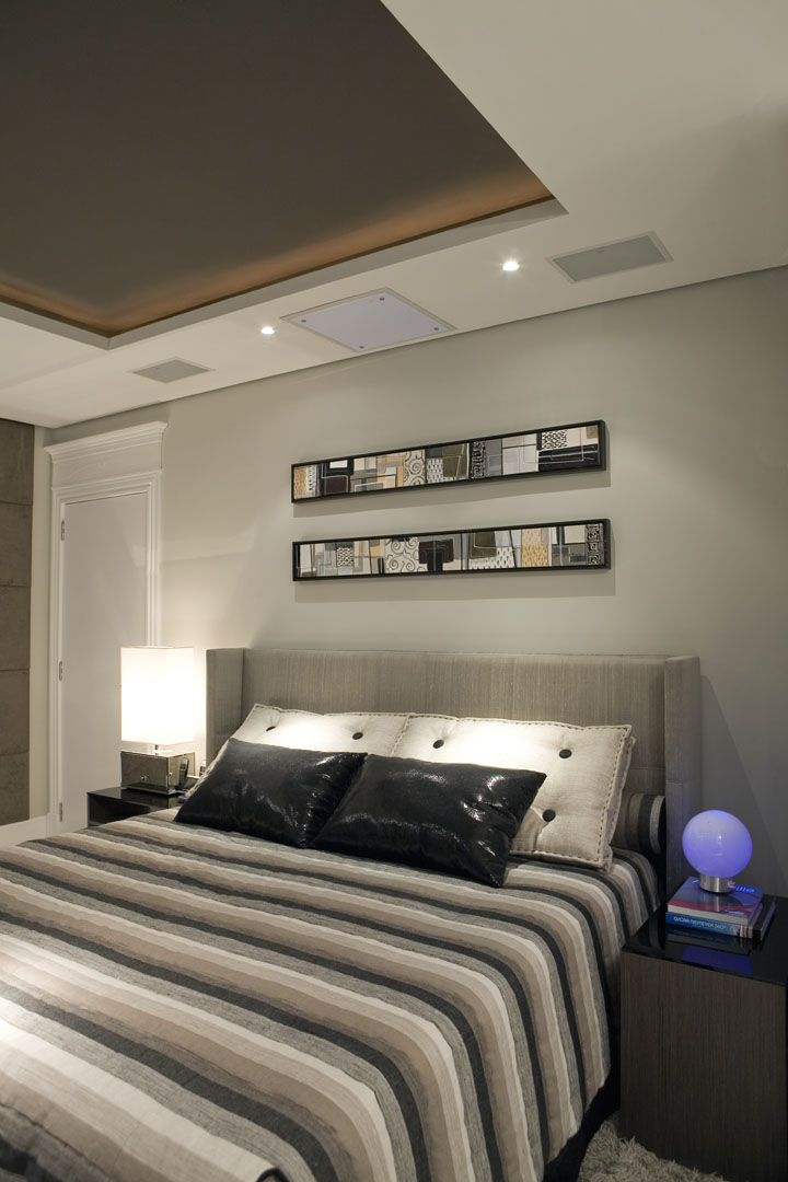 11 best images about home bedrooms on pinterest bed Modern mens bedroom