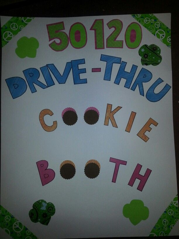 Girl Scouts Neo: Sign For Our Drive- Thru Cookie Booth @Jaline Scouts Of