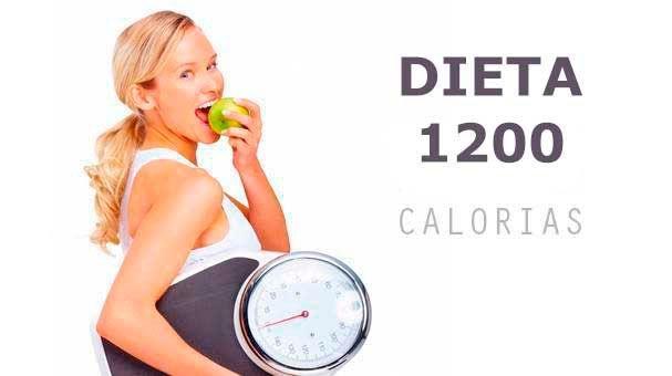 Dieta de 1200 Calorías diarias para bajar de peso - Detox