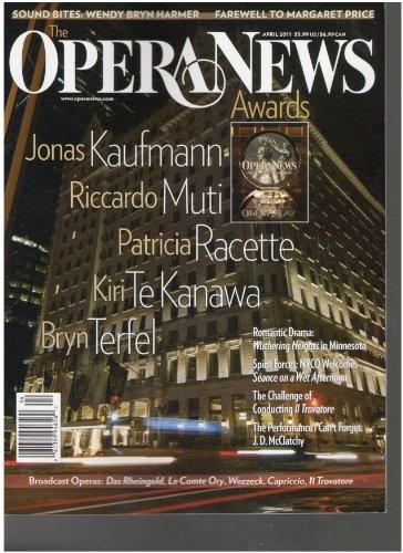 Opera News Magazine (Awards, April 2011) « Library User Group