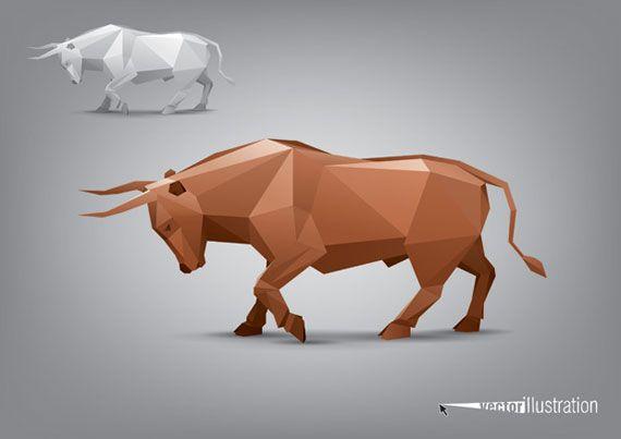 Vector-animal-stylized-triangle-polygon-model-(3)