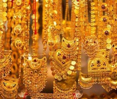 Gold souk, Dubai, United arab emirates, Asia