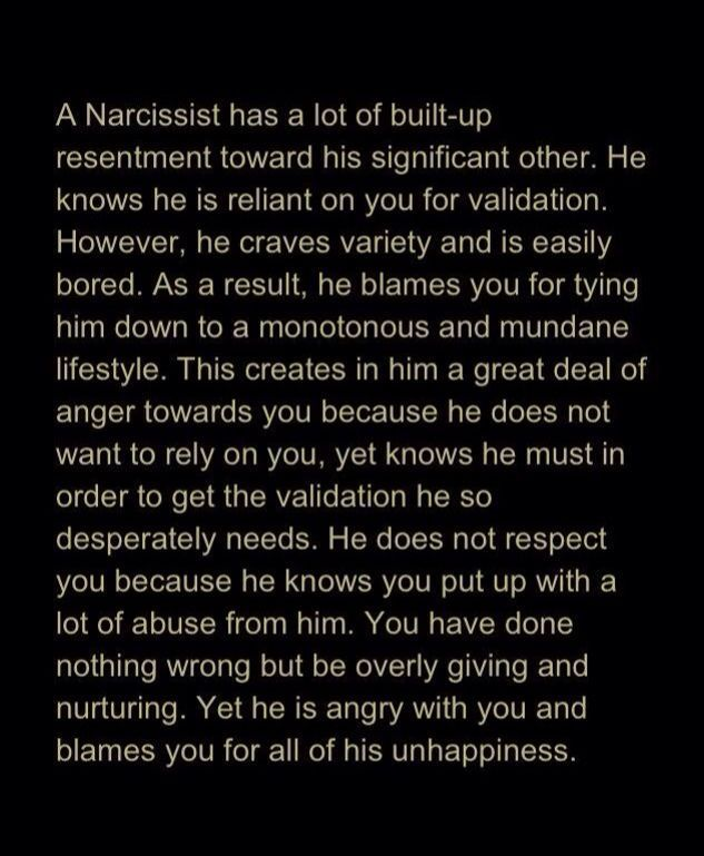 Narcissist. Narcissistic Abuse. Emotional Abuse. Verbal Abuse. Narcissists Wife.