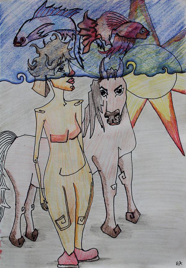 illustrations serial 03 on Behance