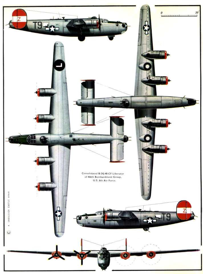 163 best consolidatet b 24 liberator colors images on 24h schemes