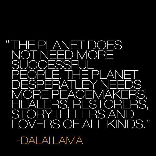 The Dalai Lama has a Message for You. {13 Quotes to Steer your Life by}