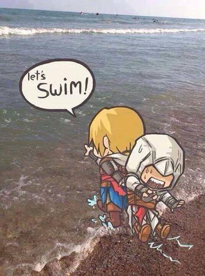 Jajaja siii aprende a nadar altair