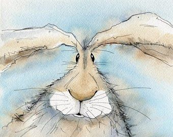 Hare print – Paddy the Hare, limited edition print, hare picture