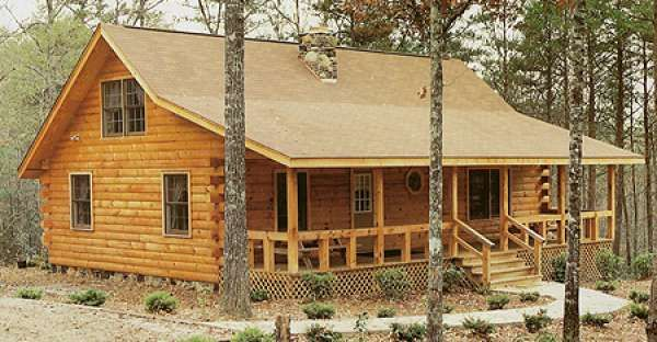 Reduced 50% to $35,000 Log Cabin Kit MUST SEE INTERIOR