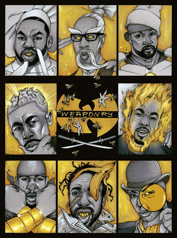 Nine Rings Of Wu Tang Characters