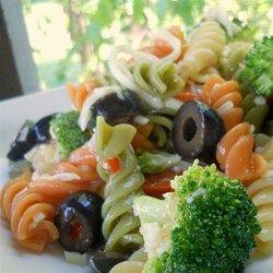 Rainbow Pasta Salad I Allrecipes.com