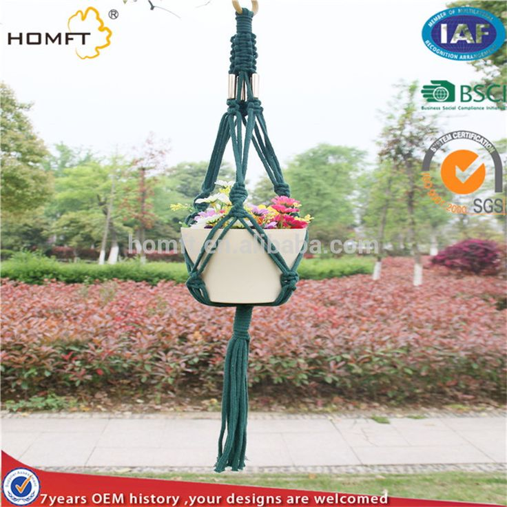 macrame rope plant hangers for tapestries hanger at low price