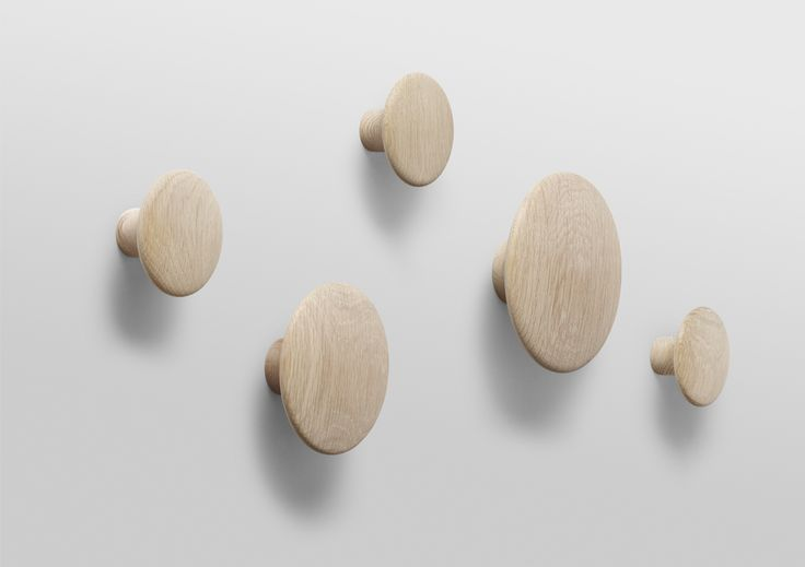 Muuto - Designs - Home Accessories - Coat Hooks - The Dots - Designed by Lars Tornoe (Formerly Tveit and Tornøe) - muuto.com