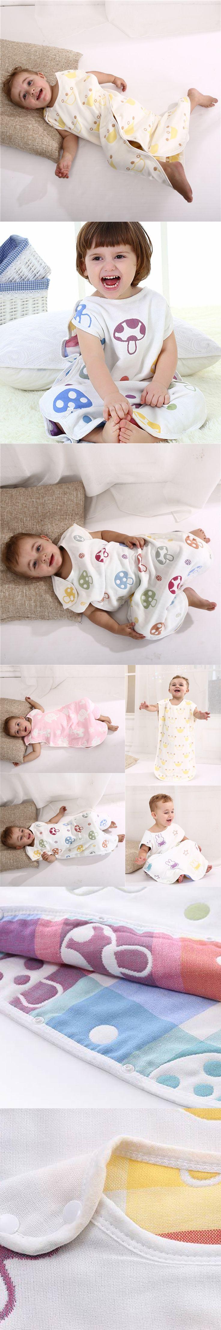 80*45cm BabySack Cotton Summer Baby Thin Toddler Sleeping Bag Summer Kids Newborns Sleepsack Saco De Dormir Para Bebe turbulette