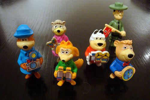 Hanna Barbera Kinder Surprise  Toys
